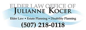 Kocer Law Rochester, MN Logo
